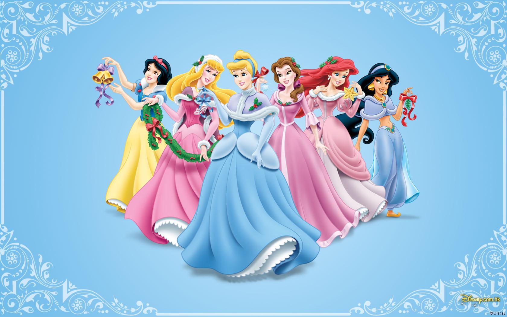 Disney Princess Christmas   Disney Christmas Wallpaper 27835231 1680x1050