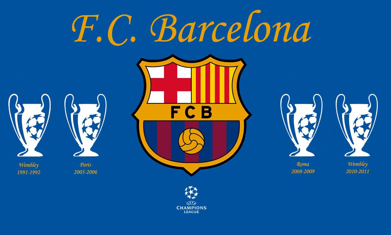 Fc barcelona champions league wallpaper wallpapersafari for Blue barcelona
