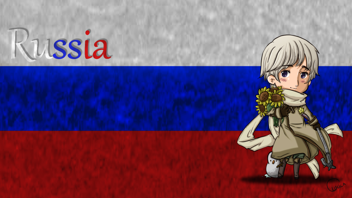 Russia Wallpaper by thelittleanimals 1366x768