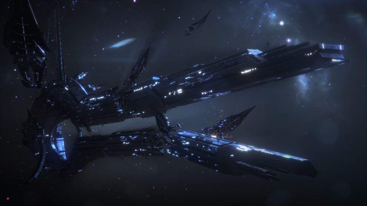 Mass Effect Reaper Wallpaper Wallpapersafari