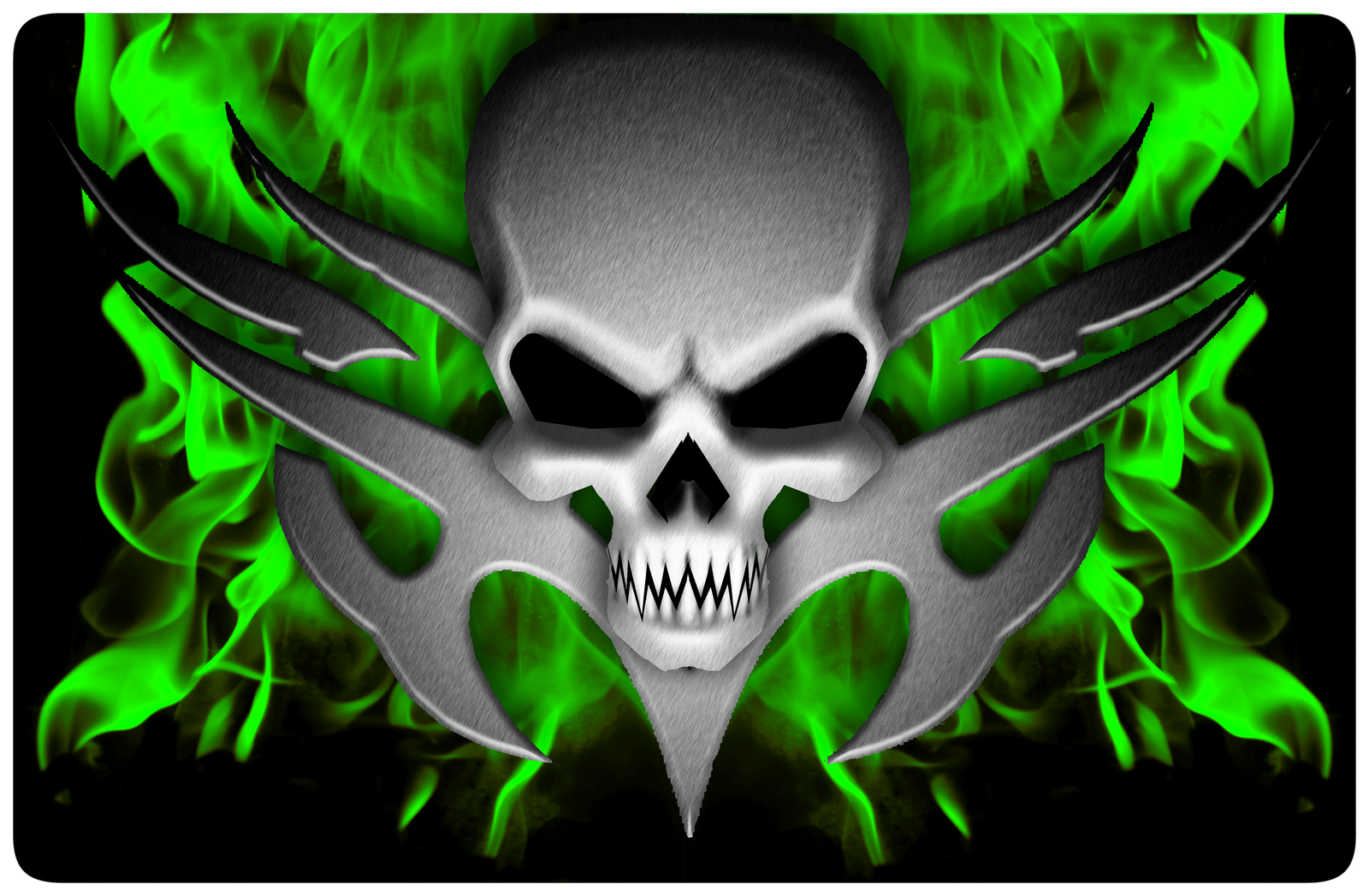 Cool Flaming Skull Wallpapers Photo Flaming Winged Skull HD Walls 1600x1048