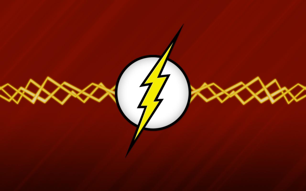 The Flash Logo Wallpaper The 1280x800