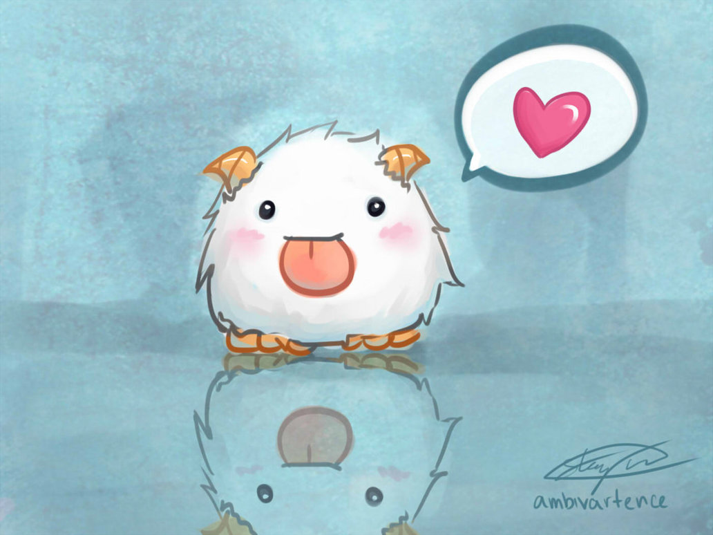 Free Download League Of Legends Poro By Ambivartence 1032x774