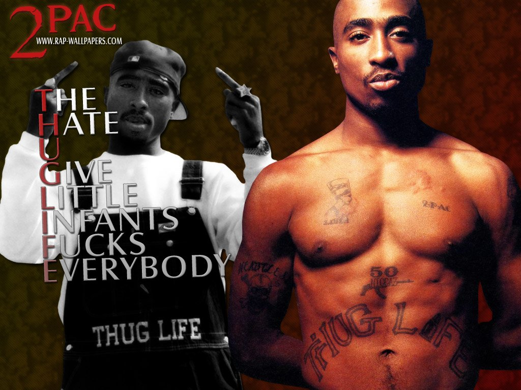Pics Photos   2pac Wallpaper Thug Life Thug Life Jpg 1024x768