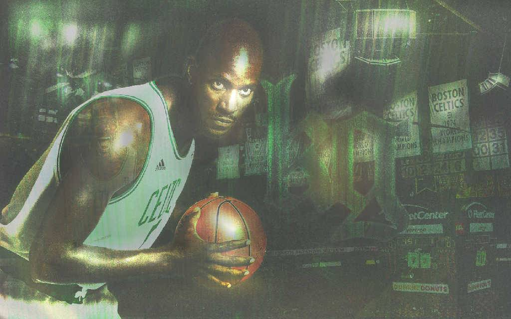Kevin Garnett Widescreen Wallpaper   Boston Celtics Wallpaper 1024x640