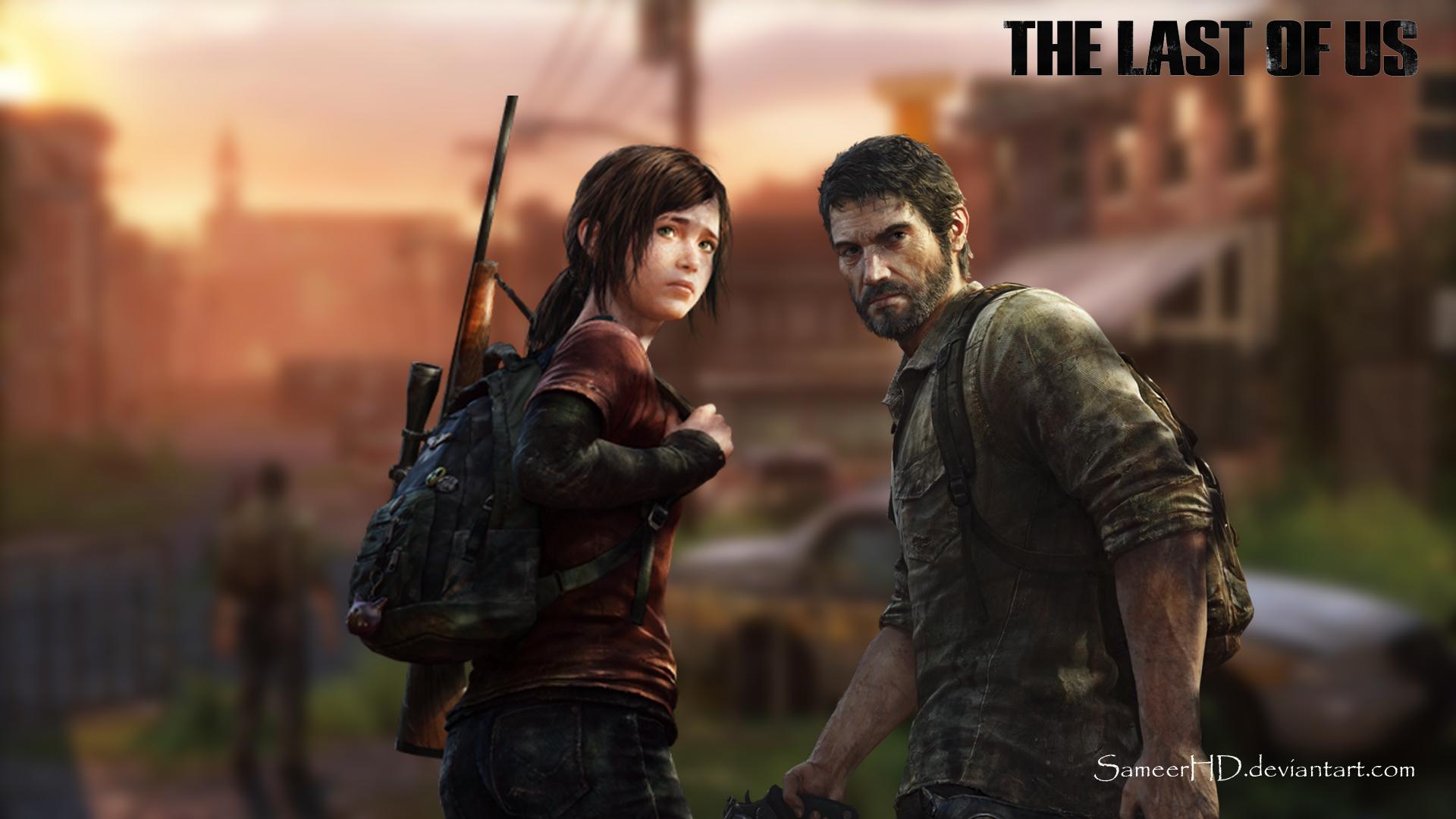The Last Of Us Joel and Ellie Wallpaper by SameerHD 1920x1080