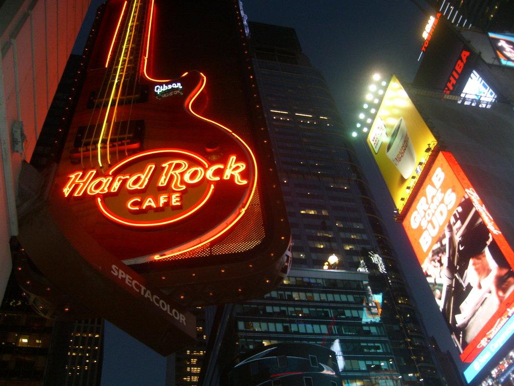Hard Rock Cafe New York Ny
