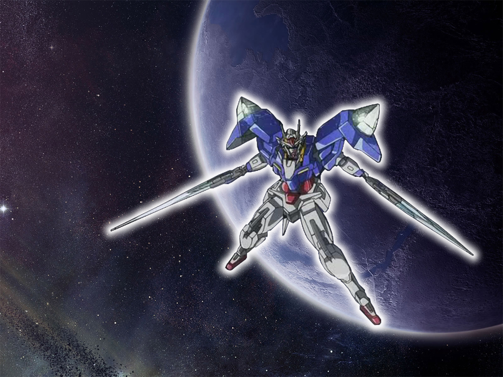 Wallpapers   Gundam 00 razor by elotic   Customizeorg 1000x750