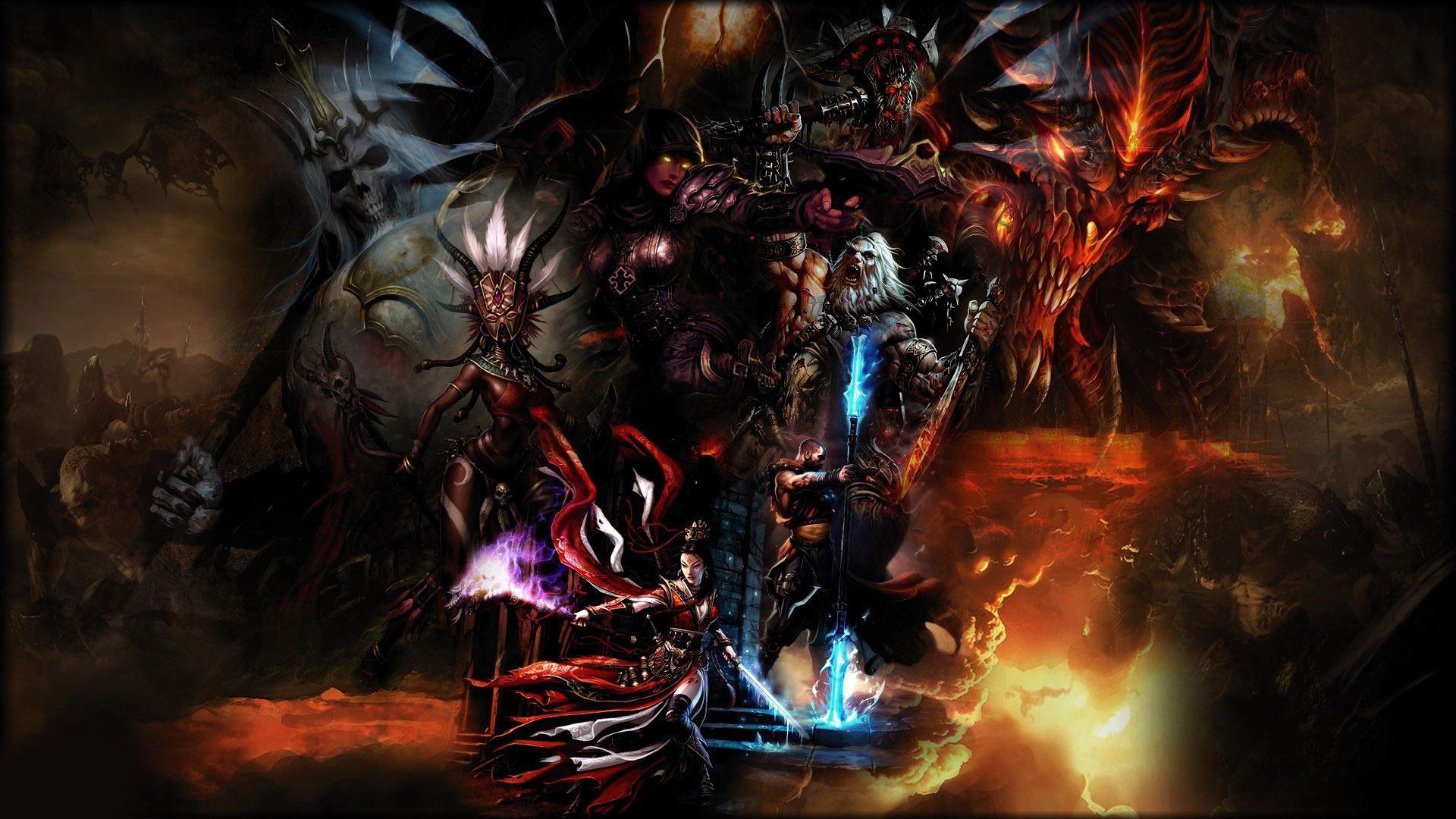 Diablo 3 Wallpapers Hd Wallpapersafari