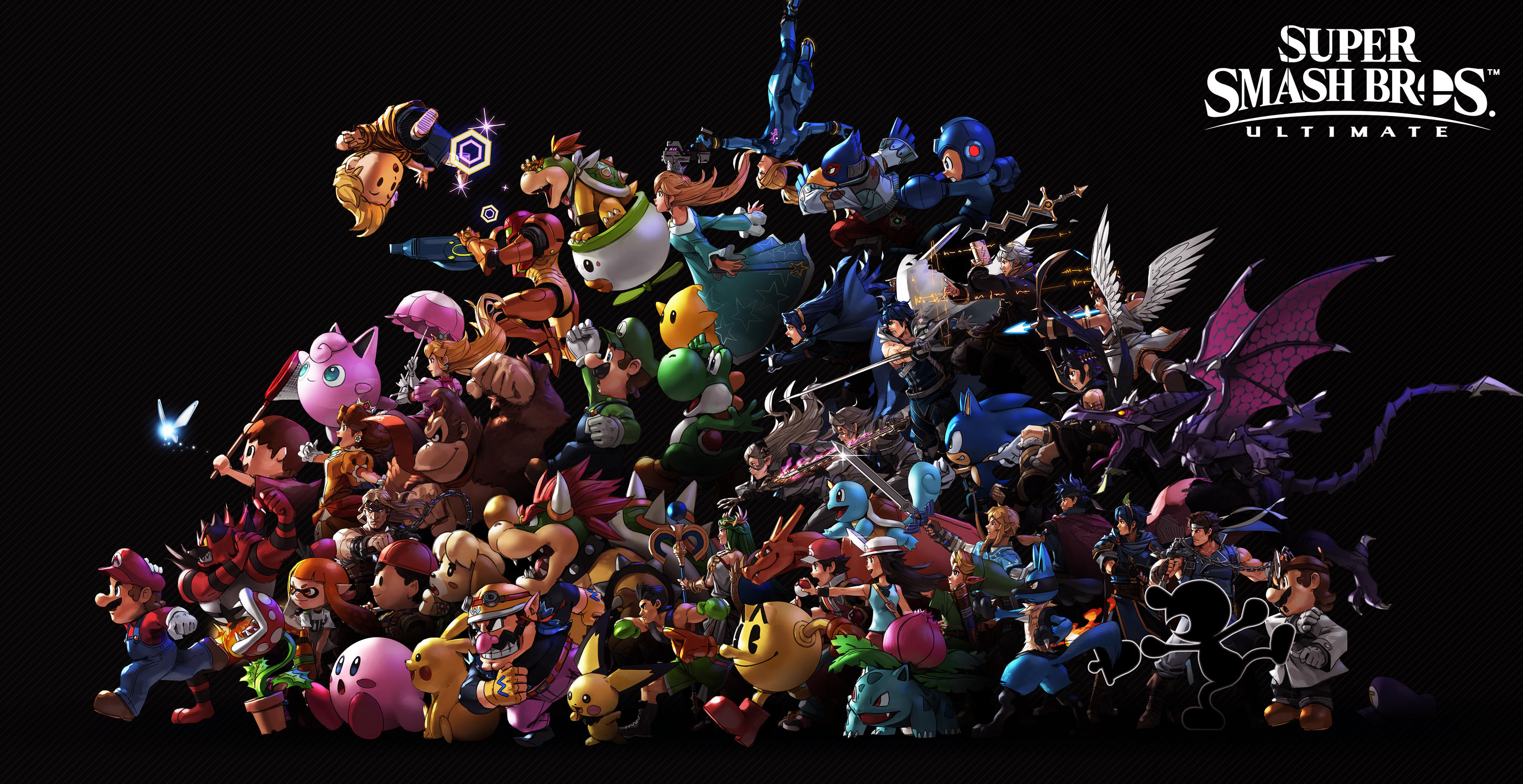 Free Download Super Smash Bros Ultimate Hd Wallpaper Background