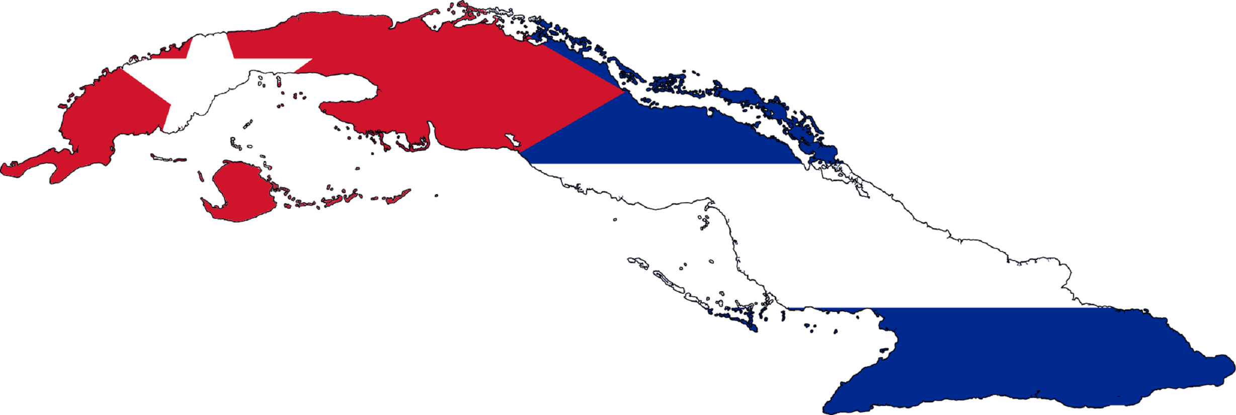 Cuban Flag Wallpapers 2457x825