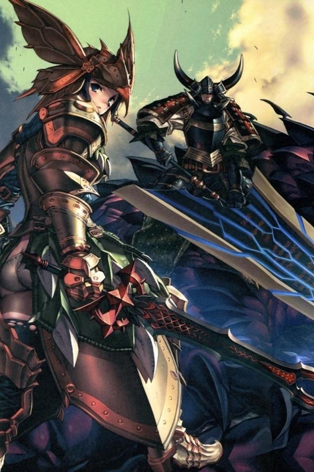 Anime Battle iPhone HD Wallpaper iPhone HD Wallpaper download iPhone 640x960