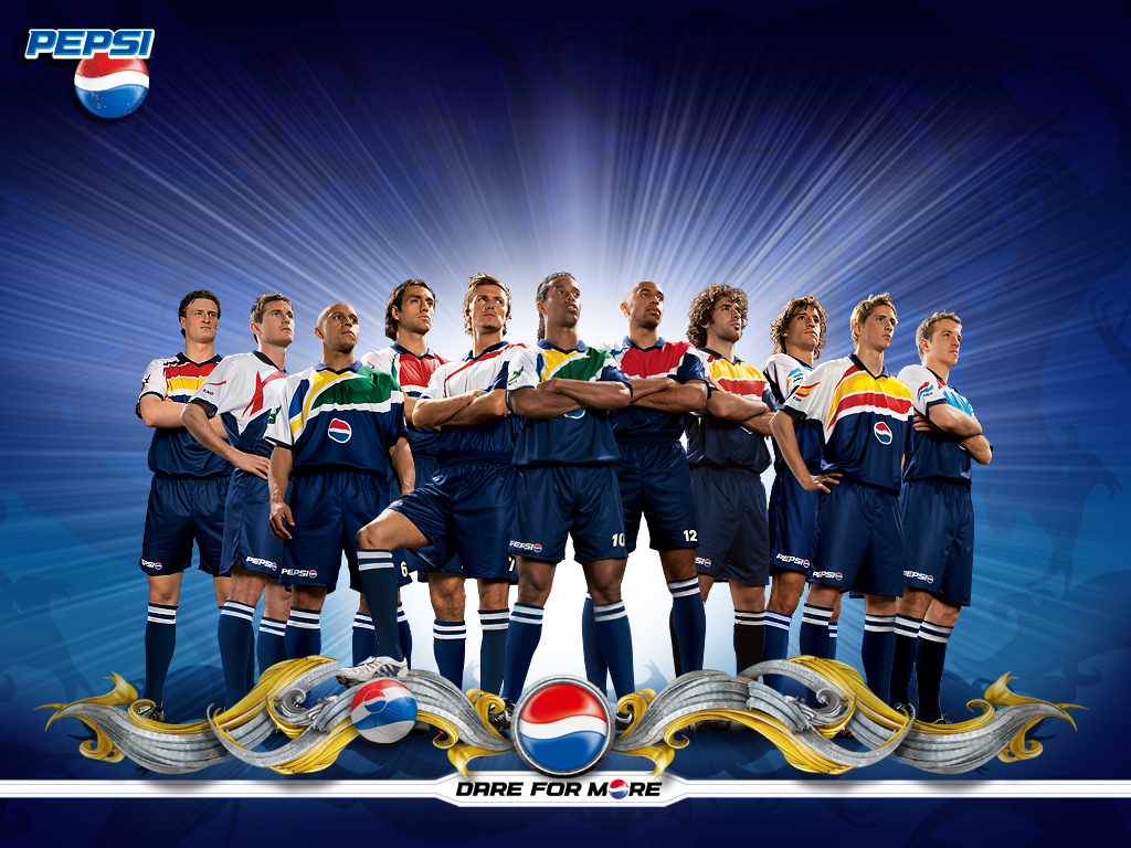 Download full size PEPSI team Football Wallpaper Num 30 1024 x 1024x768