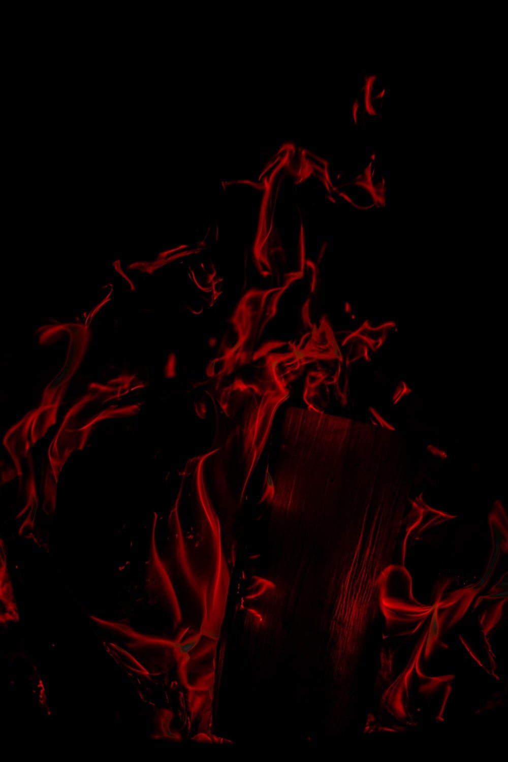 red and black fire digital wallpaper photo Pattern Image on 1000x1500