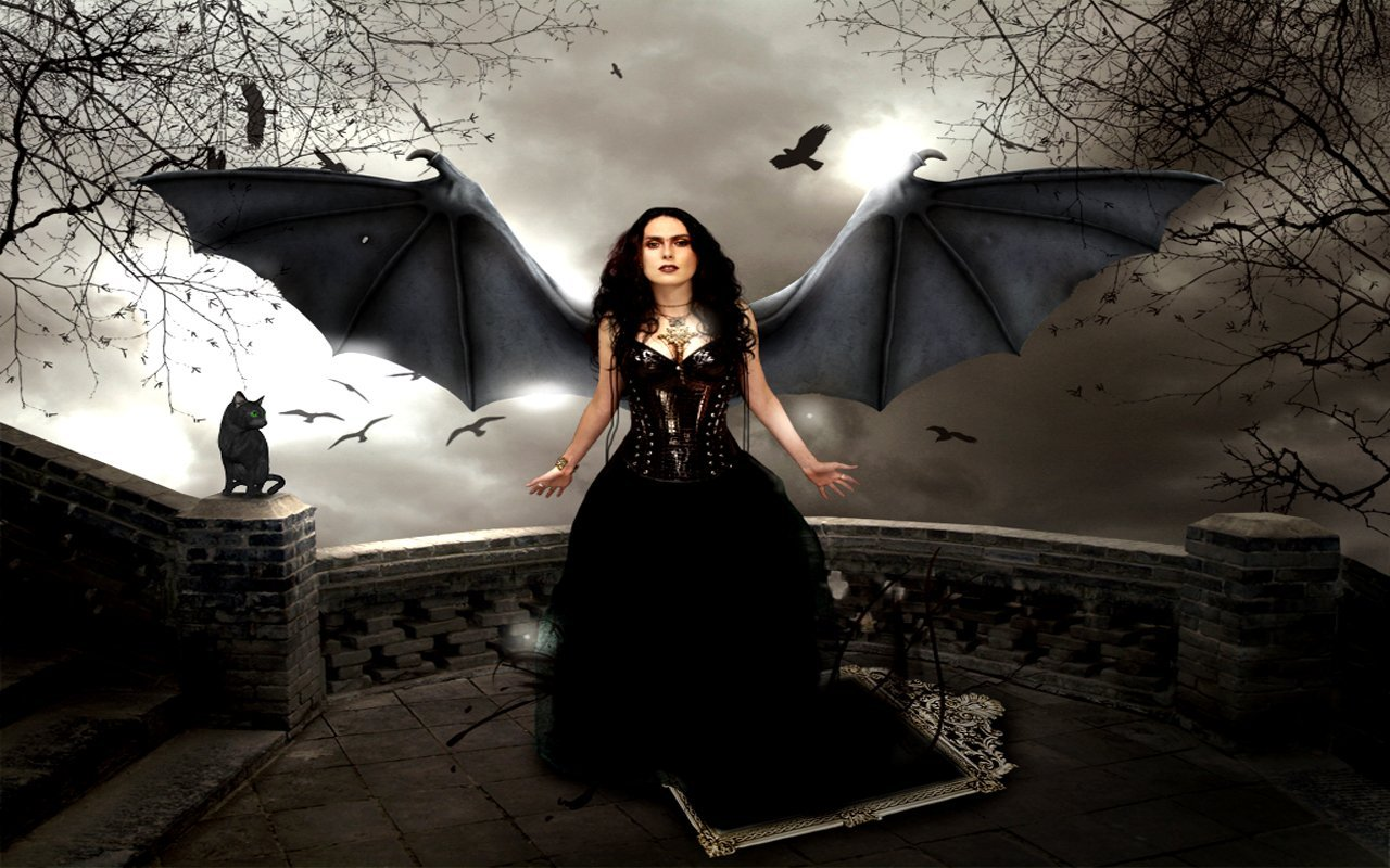 gothic girls wallpaper by - photo #21