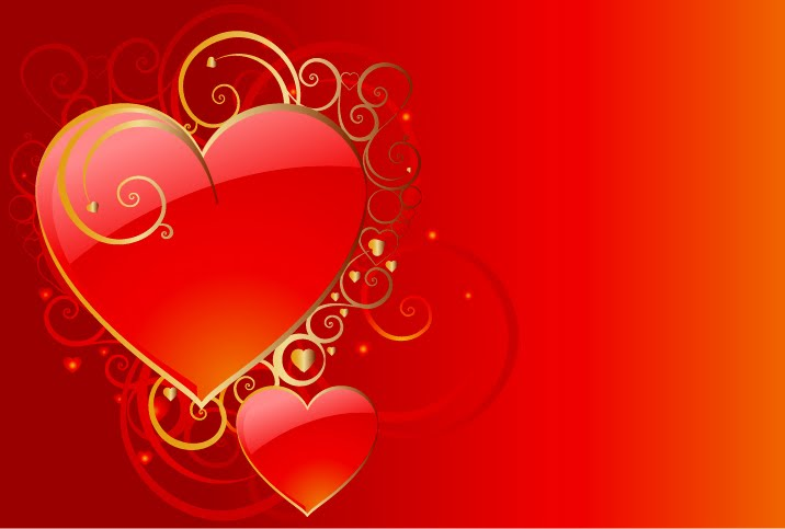 Red love heart wallpaper hearts wallpapers Simple Wallpapers 716x483