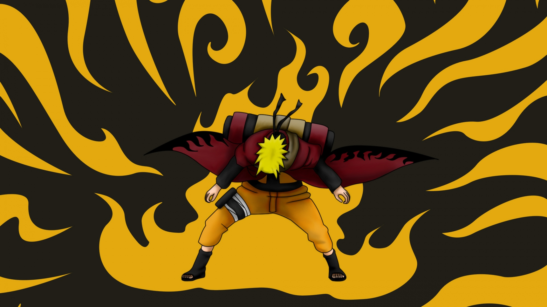 Download Wallpaper 1920x1080 Uzumaki naruto Naruto Guy 1920x1080
