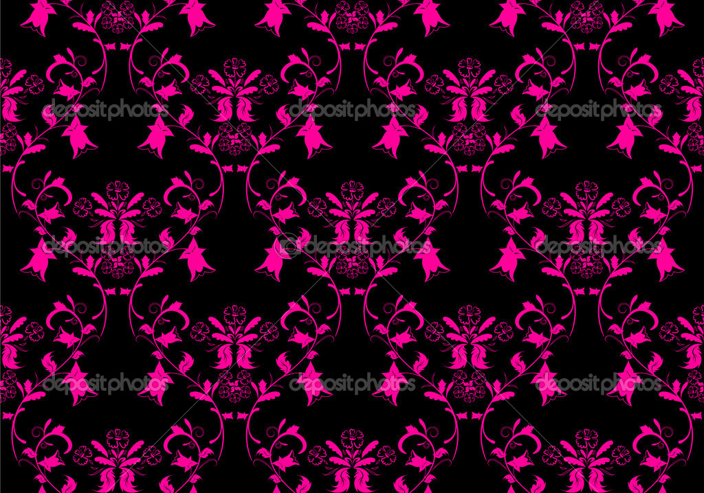 Pink and Black Wallpaper - WallpaperSafari