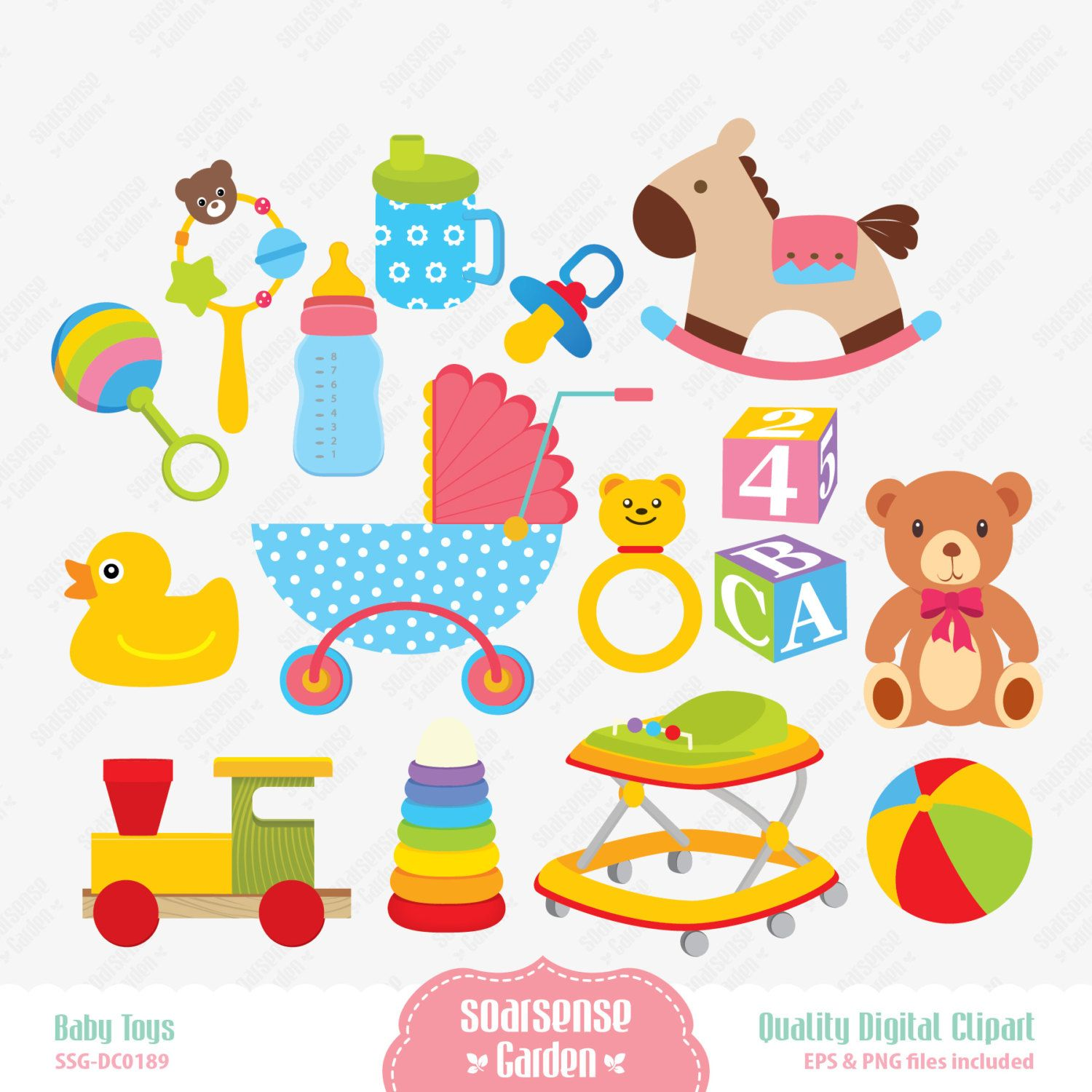 Twin Boy Baby in A Cute Digital Clipart Twins in Peapod Icons 1500x1500