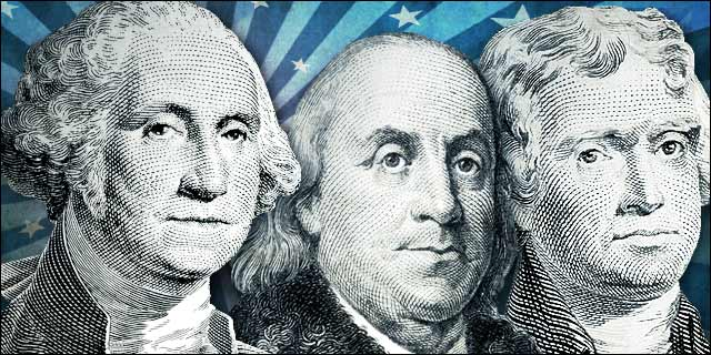 Americas Founding Fathers Wallpaper 640x320