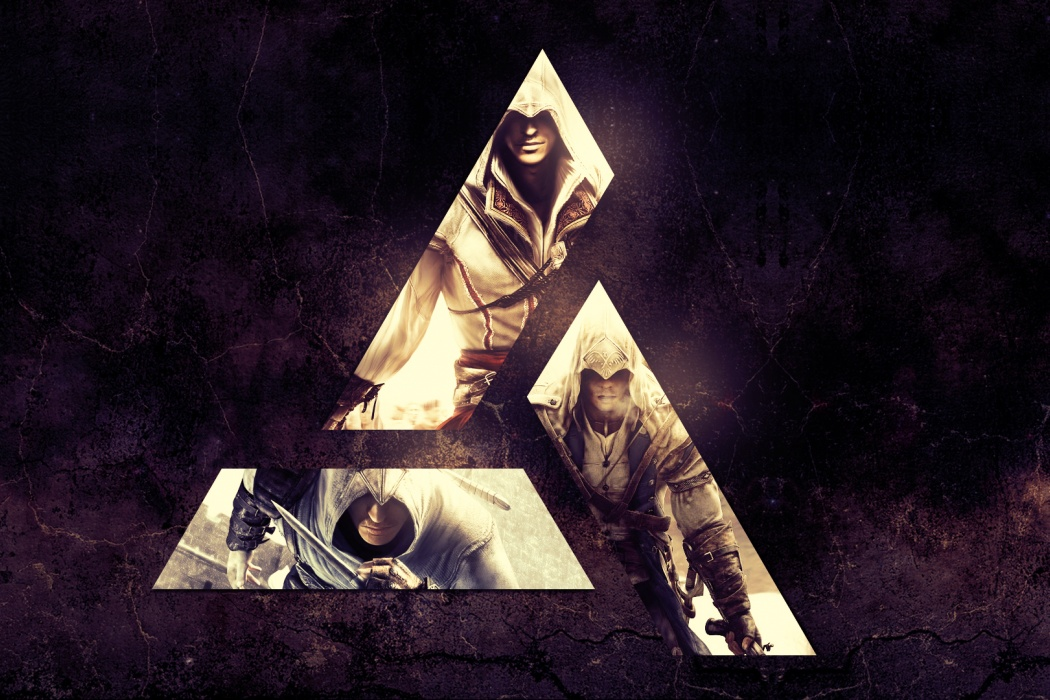 HD Assassin 39 s Creed Abstract Wallpaper images 1080p photos pics 1050x700