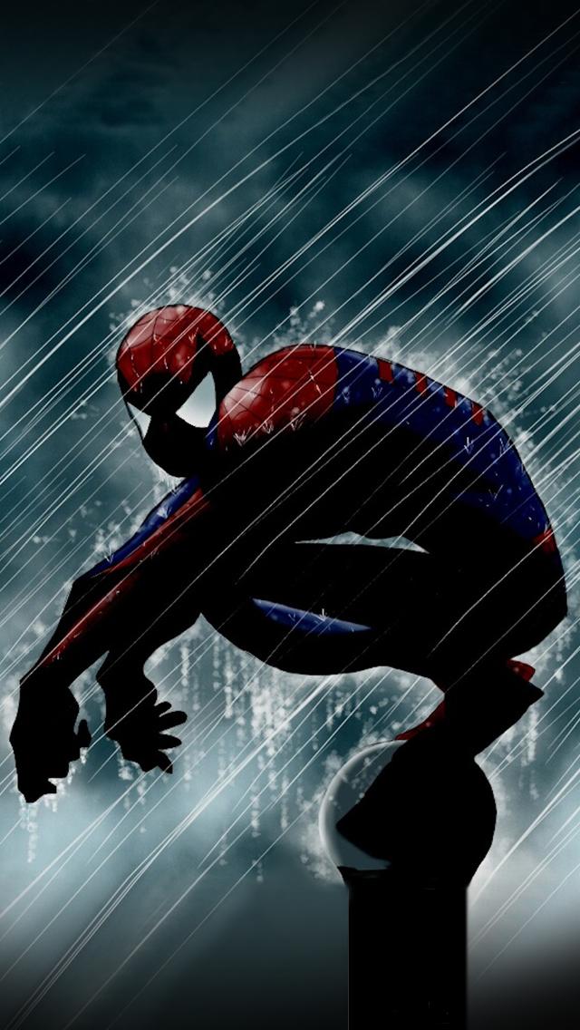 Spiderman iPhone Wallpaper HD - WallpaperSafari
