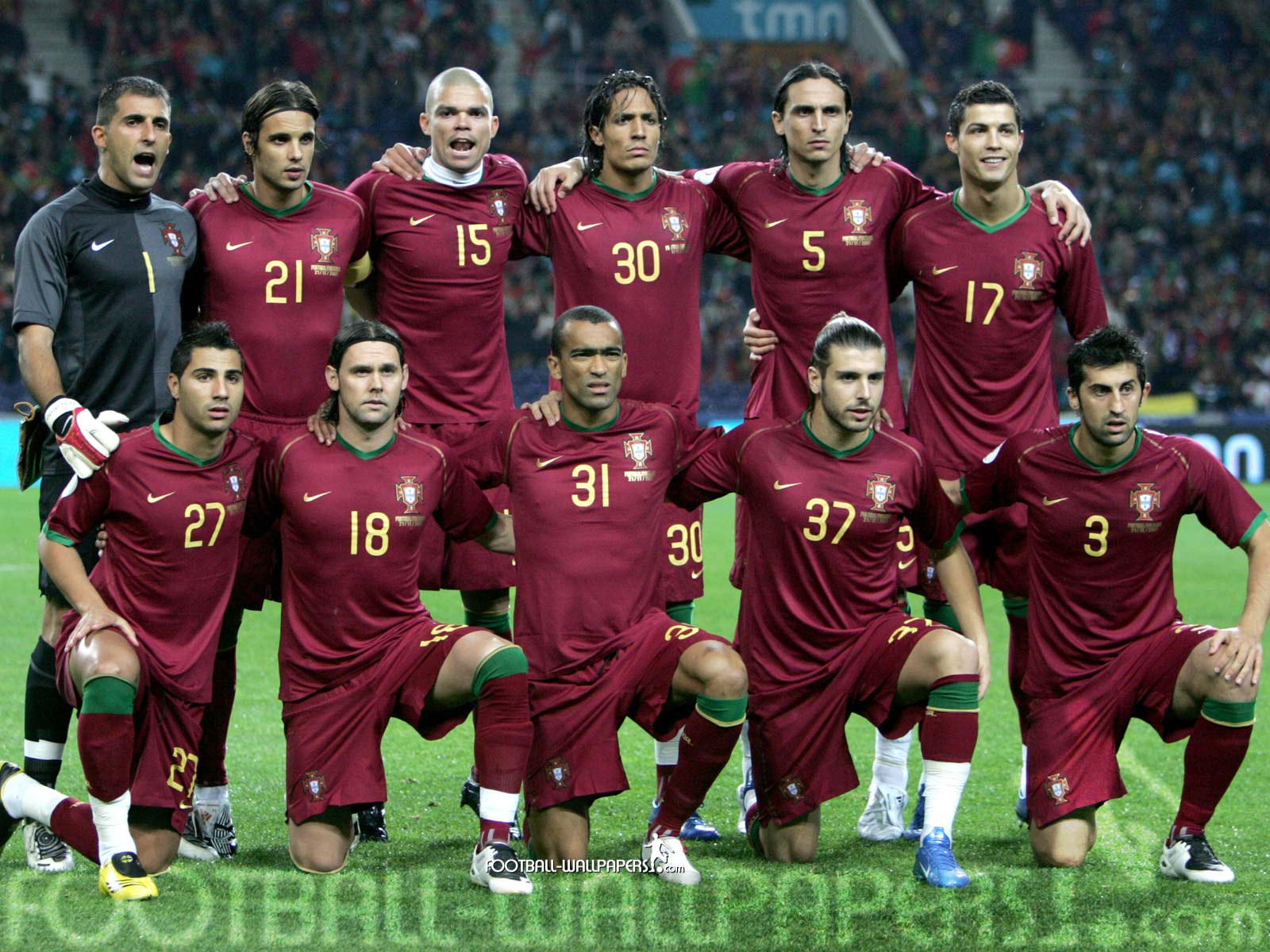 The Information Centre Portugal Football Team 1600x1200
