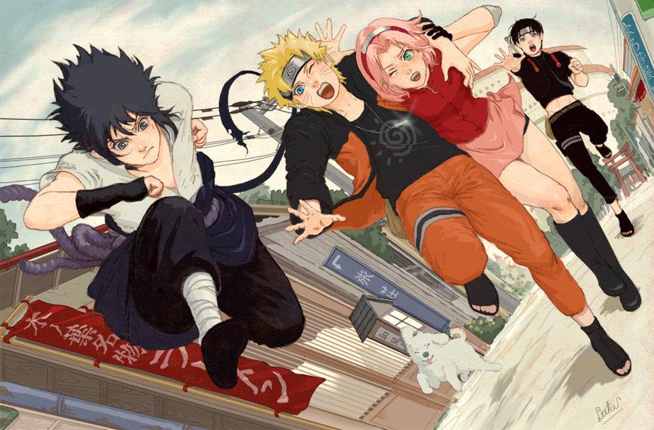 Naruto shippuuden hentai sakura hinata tsunade - free