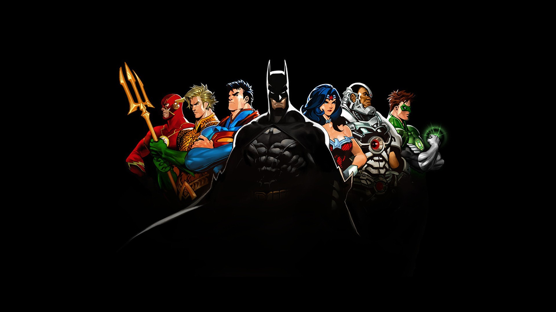 DC Comics heroes Wallpaper 5068 1920x1080