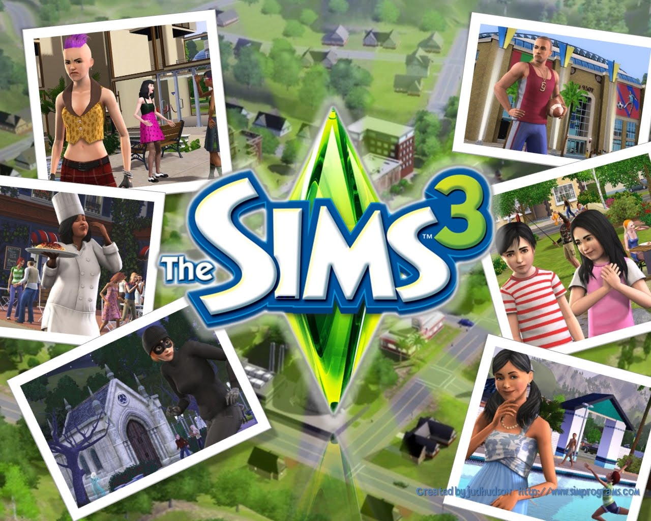 the sims 3 wallpaper hd 1280x1024