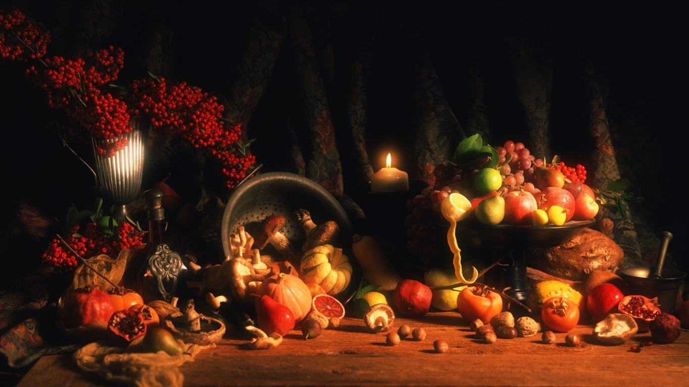 Collection of Thanksgiving Desktop Wallpapers Backgrounds on 1366x768