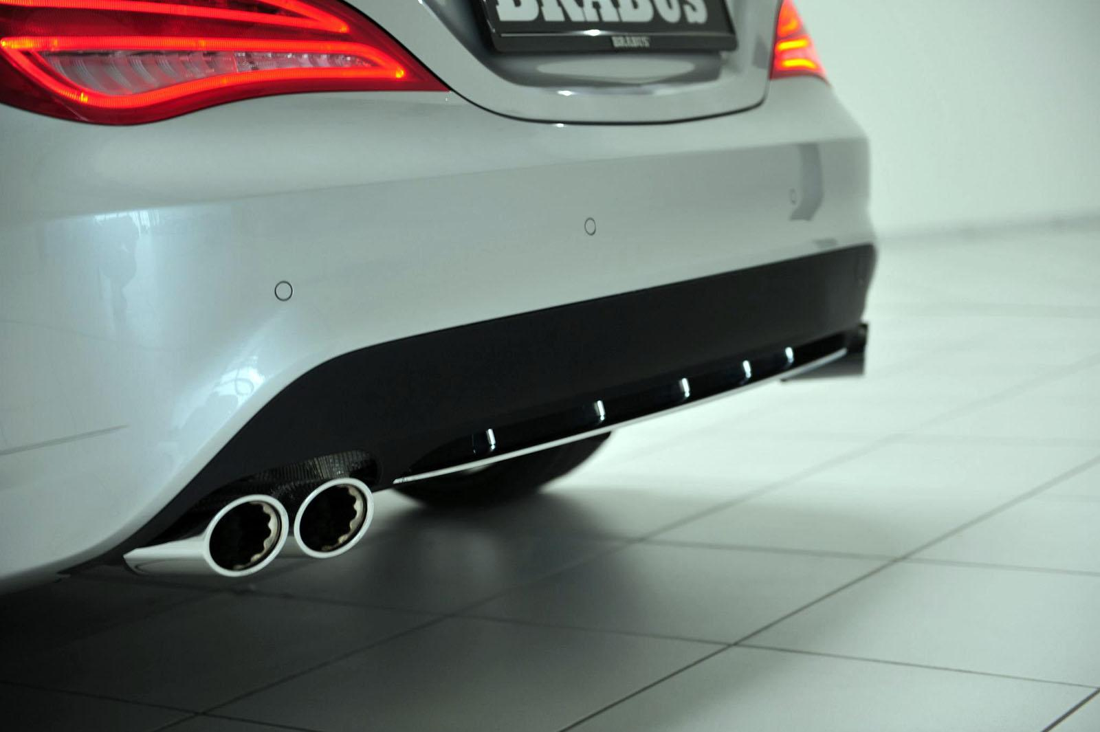 Mercedes CLA 250 tuned by Brabus wallpapers   Auto Power Girl 1600x1065