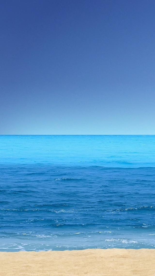 Beach iPhone 5s Wallpaper Download | iPhone Wallpapers, iPad ...