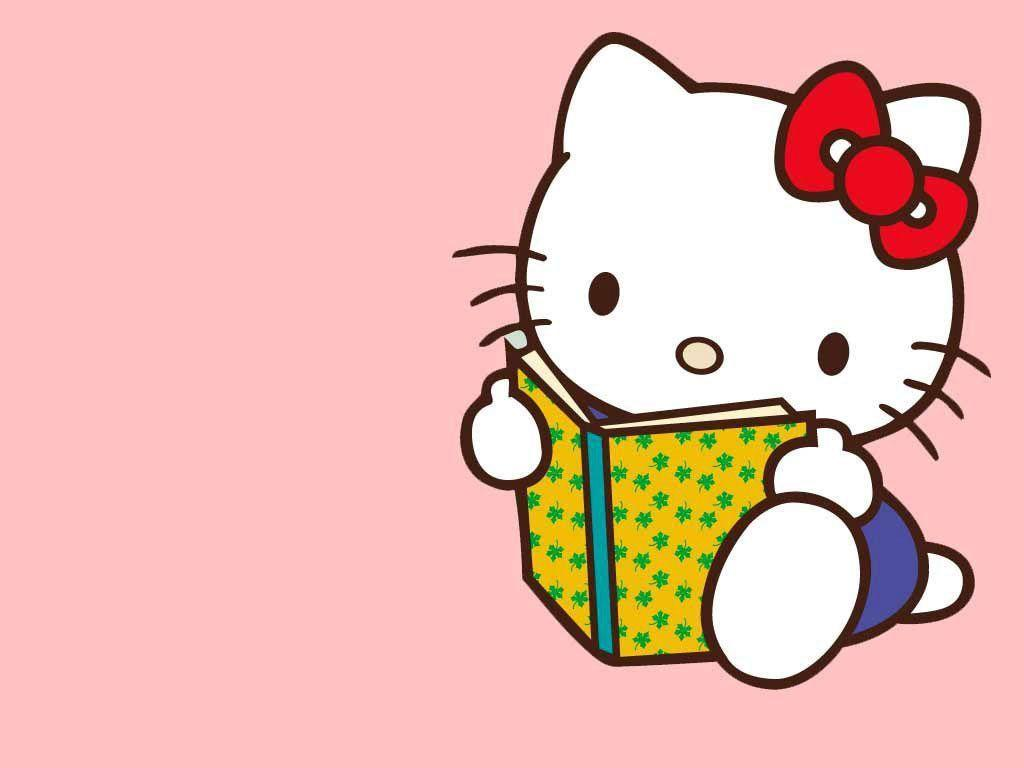 Hello Kitty Cute Image Backgrounds 1024x768