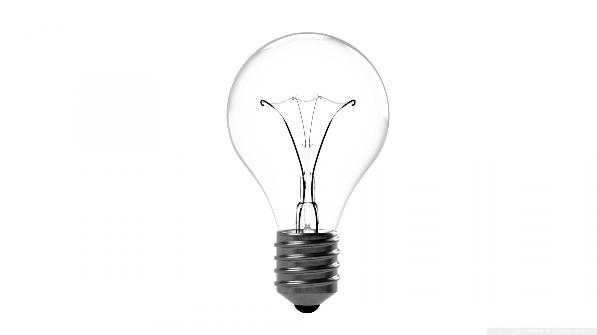 Incandescent Light Bulb 4K HD Desktop Wallpaper for 4K Ultra HD 1920x1080