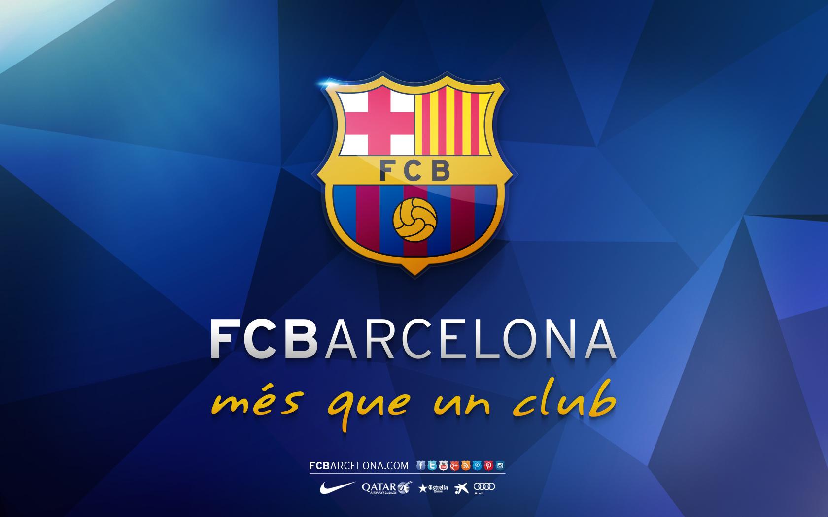 Barcelona Logo 2015 Wallpaper