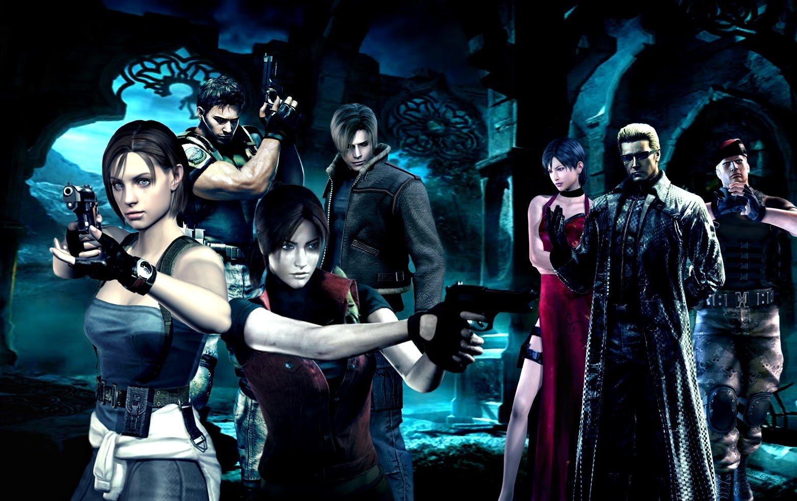 Free Download Wallpaper Resident Evil Videojuegos Unos Que