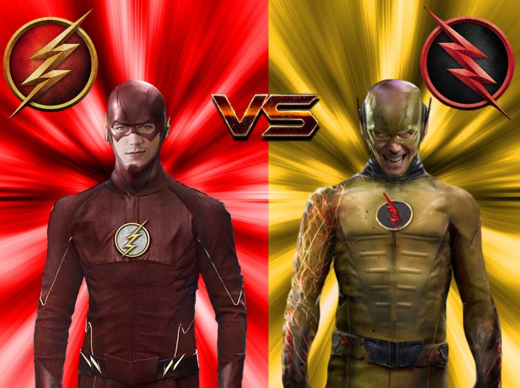 The Flash vs The Reverse Flash ALL FIGHT 1024x764