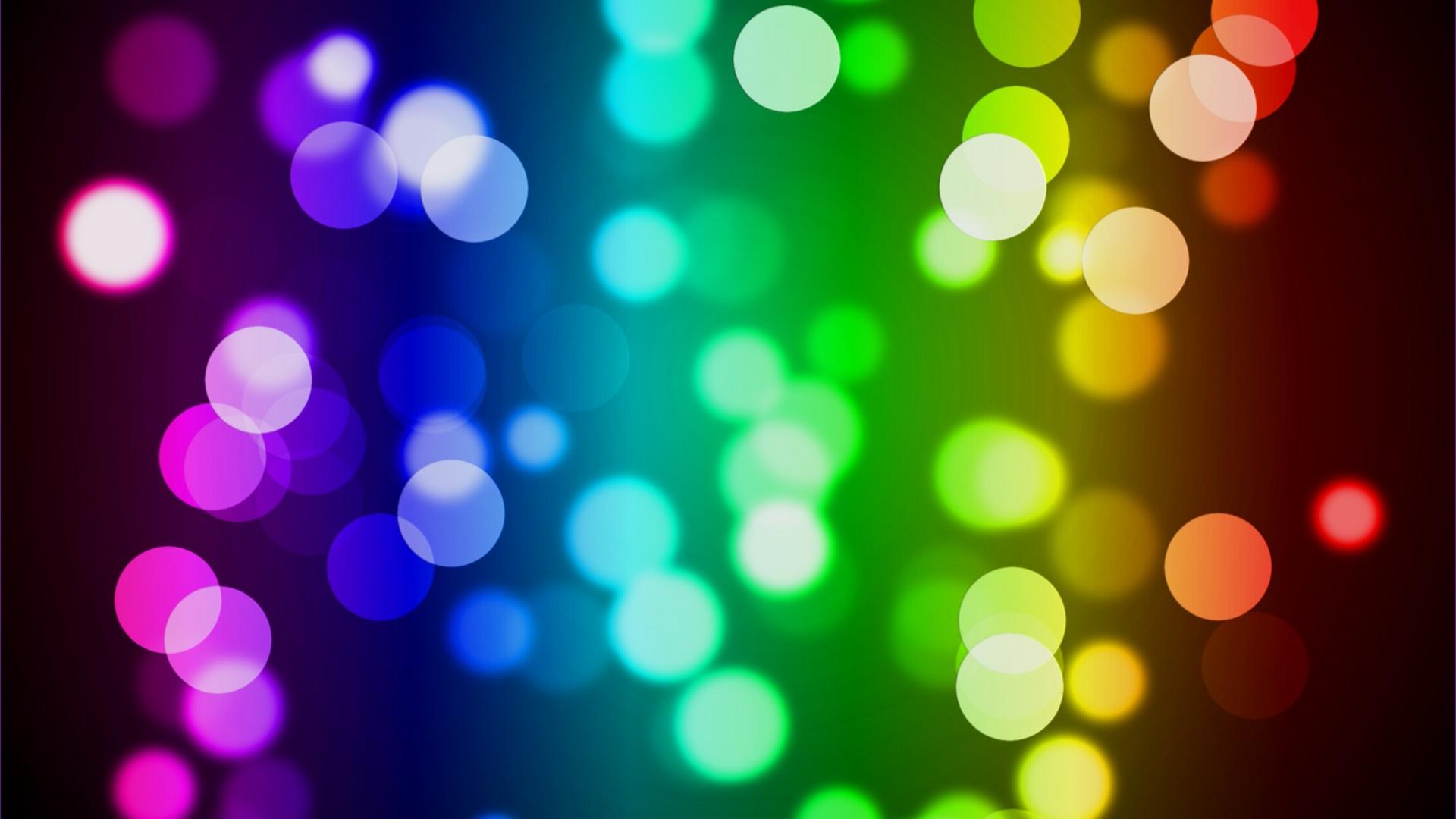 Colorful Bokeh HD Desktop Wallpaper HD Desktop Wallpaper 1920x1080