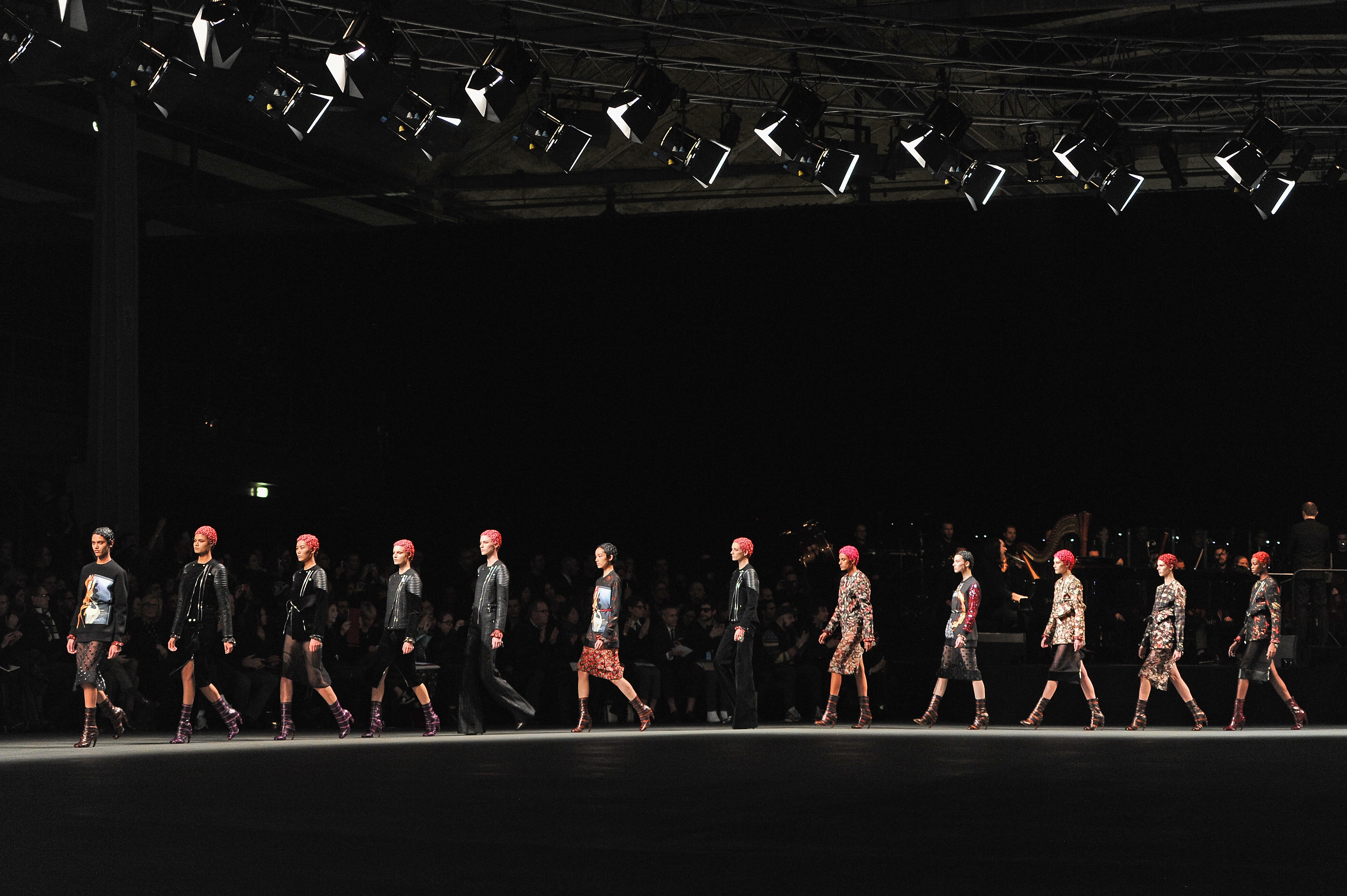 download Givenchy fashion show wallpapers and images 4219x2807