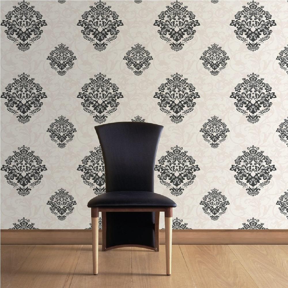 Home Wallpaper CWV CWV Crown Arabesque Wallpaper M0551 1000x1000