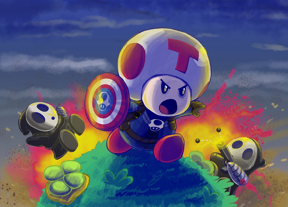 Captain Toad Wallpaper - WallpaperSafari