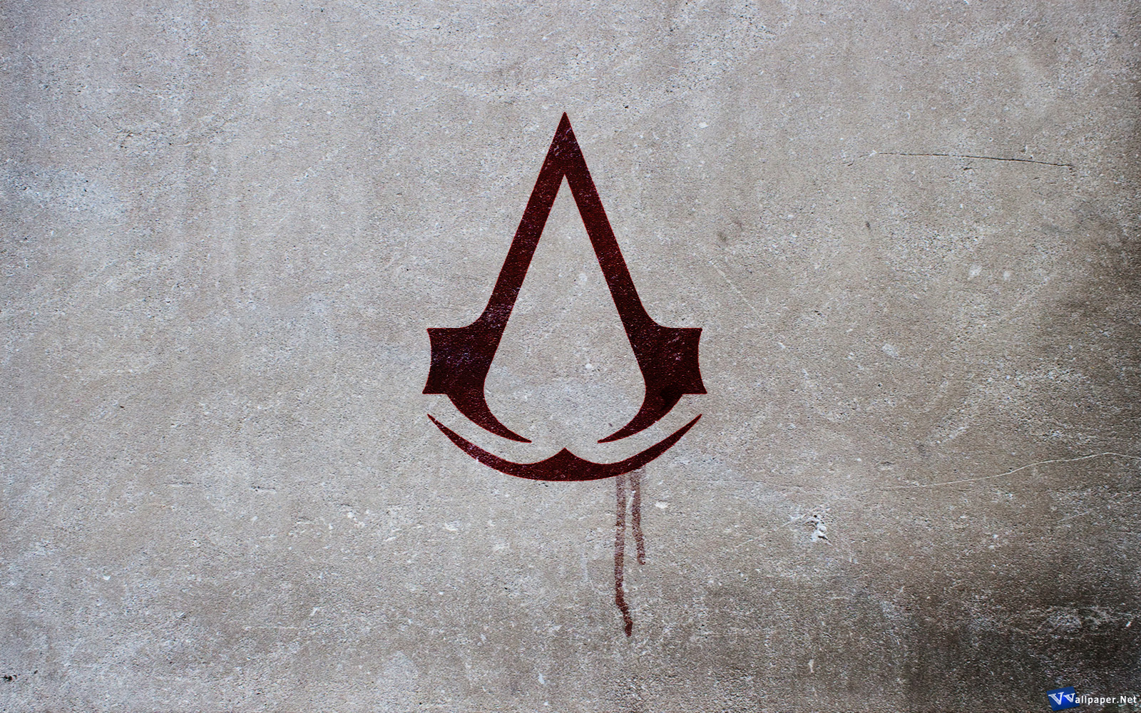 Assassins Creed Logo Symbol Wallpaper 1600x1000