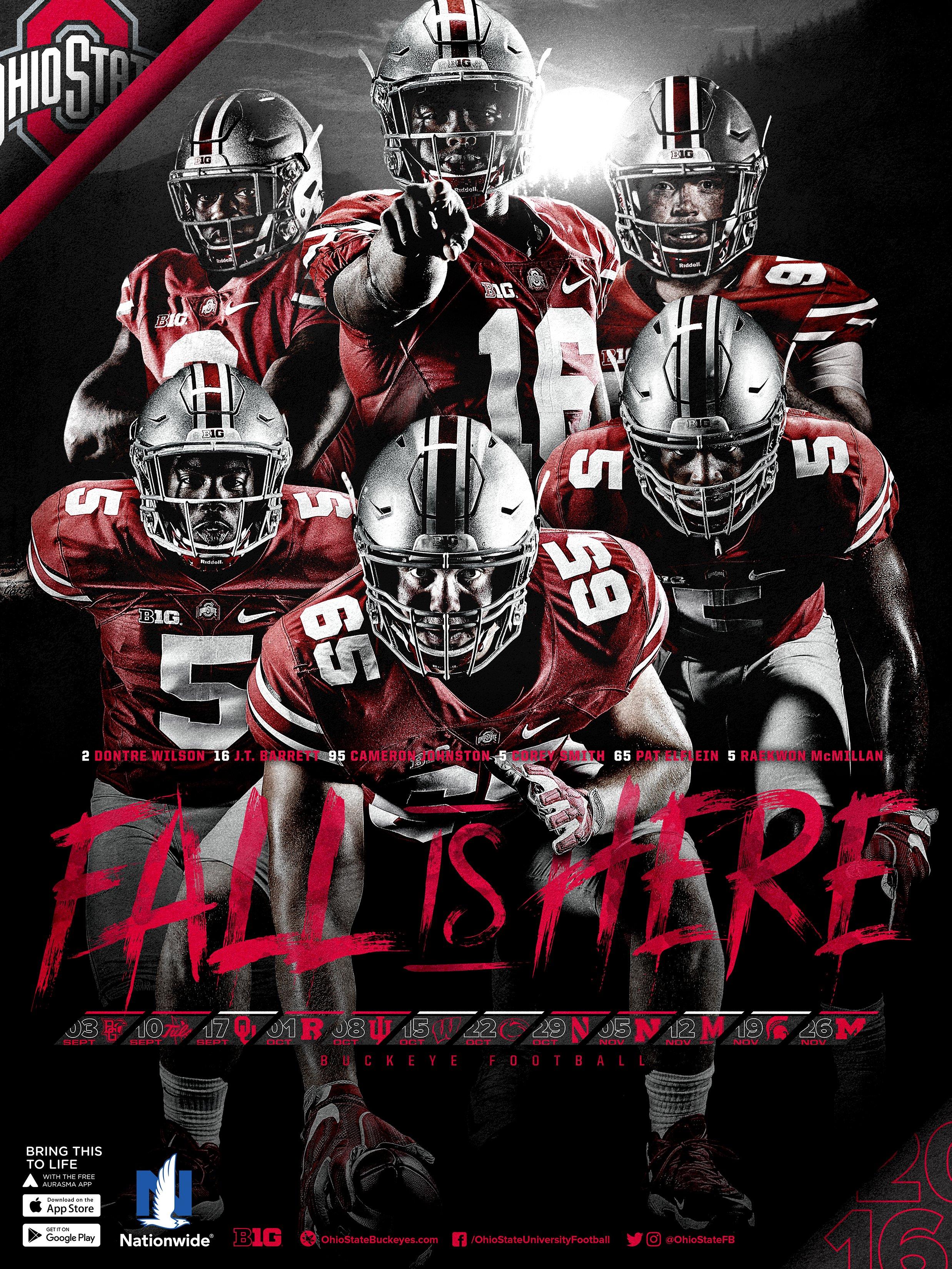 Wallpaper Ohio State Football Helmet 2475x3300