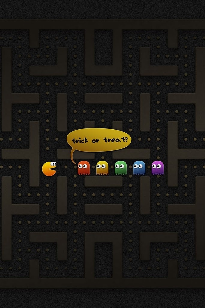 Pac Man IPhone 4 Retina Display Wallpaper IPhone Fan Site 683x1024