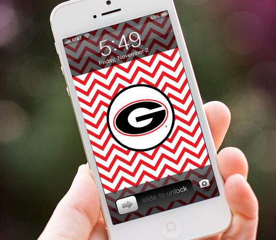 Unavailable Listing On Etsy: Georgia Bulldog Wallpaper Cell Phone