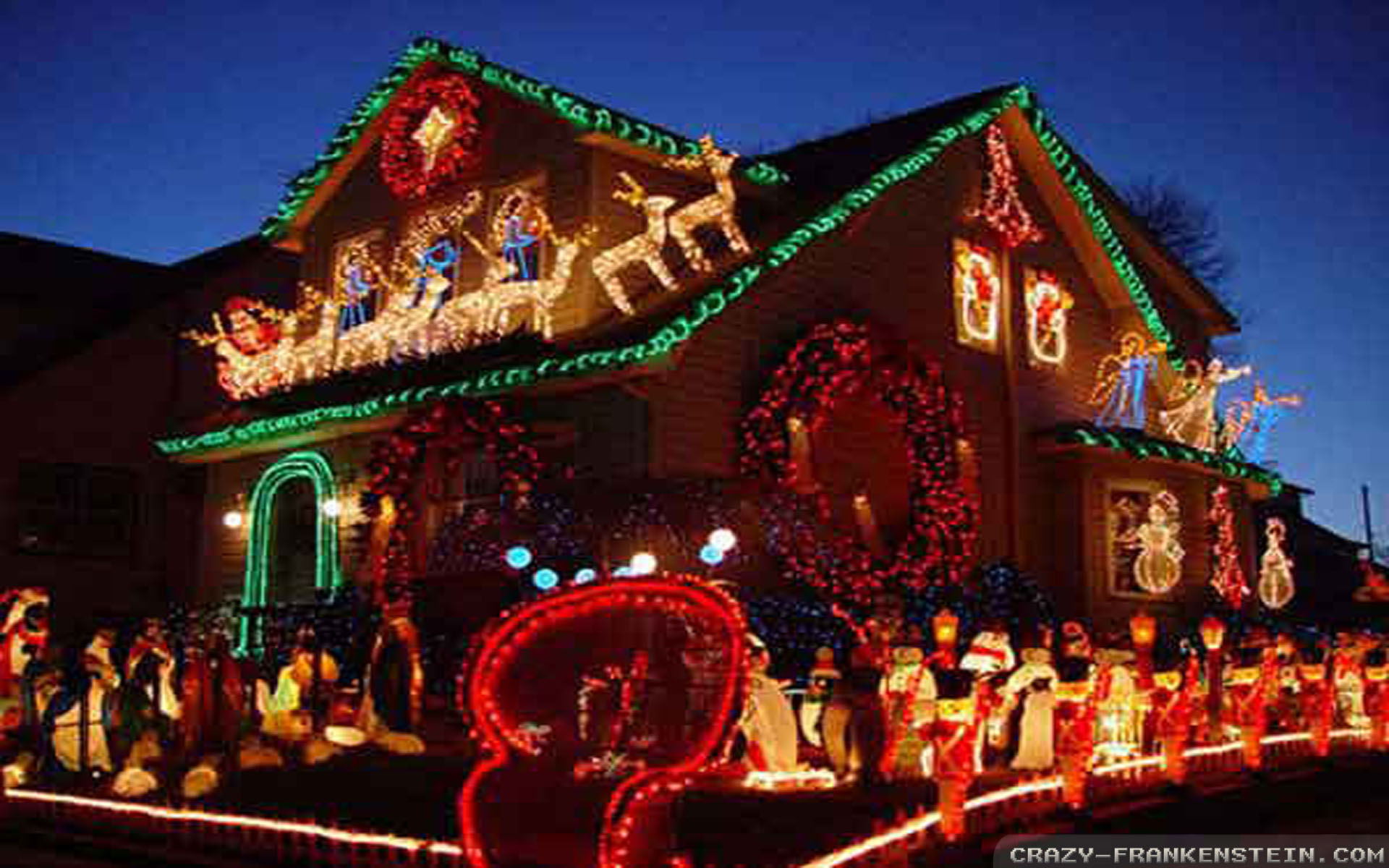 Free Outdoor Christmas Decorations wallpapers Crazy