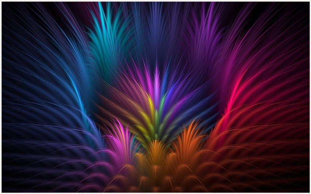 Feather Flower Abstract Background Wallpaper feather flower 1024x640