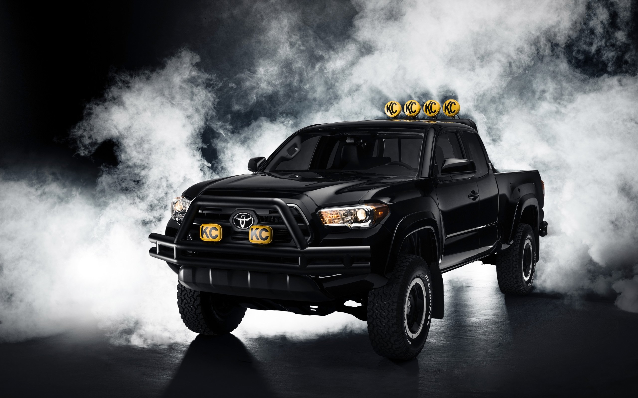 2016 Toyota Tacoma Back to the Future Wallpaper HD Car Wallpapers 2560x1600