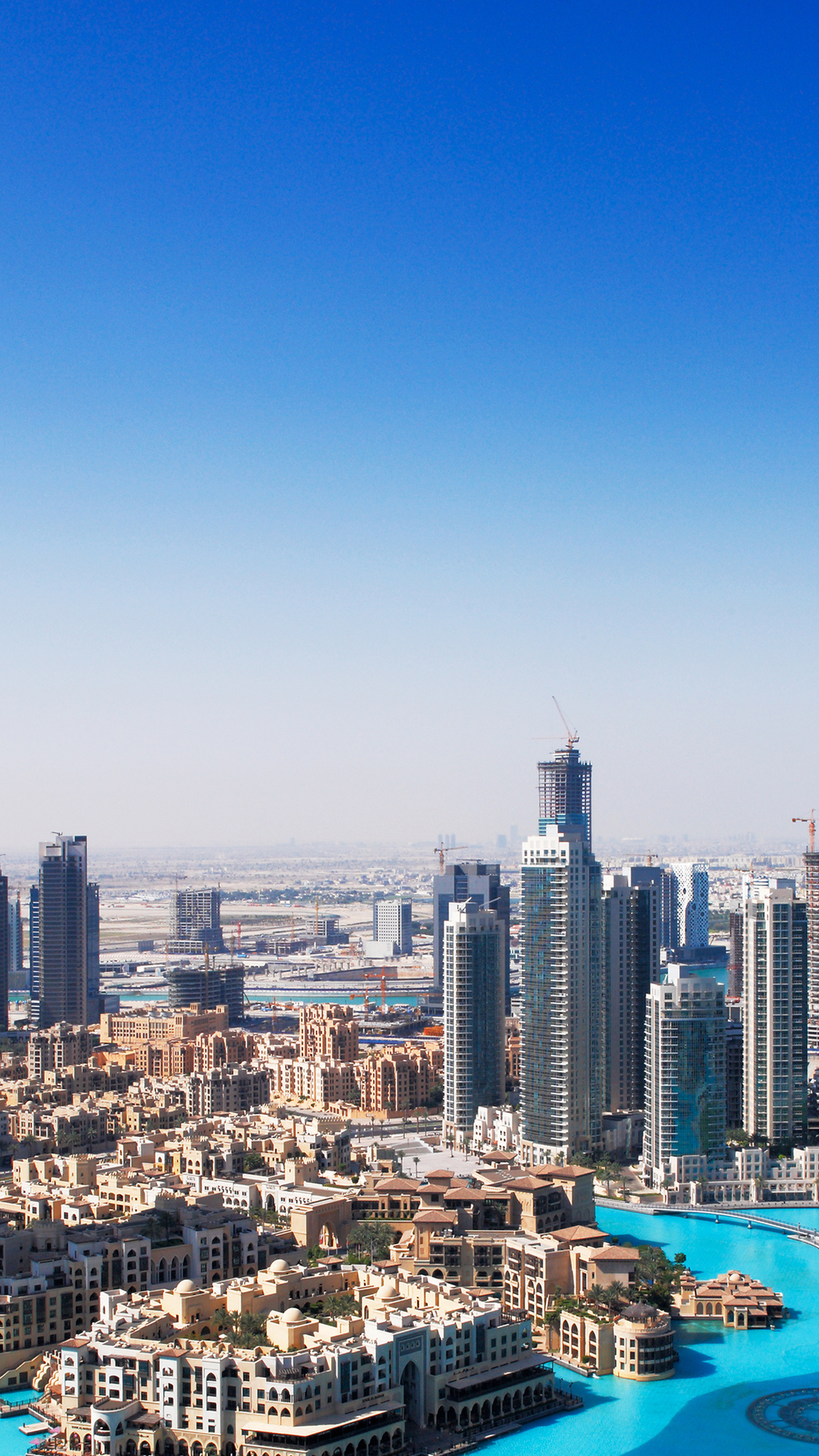 Free Download Dubai Skyline 4k Ultra Hd Wallpaper 4k
